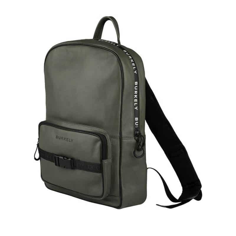 "Burkely Rebel Reese 15"" Backpack Green-185376"