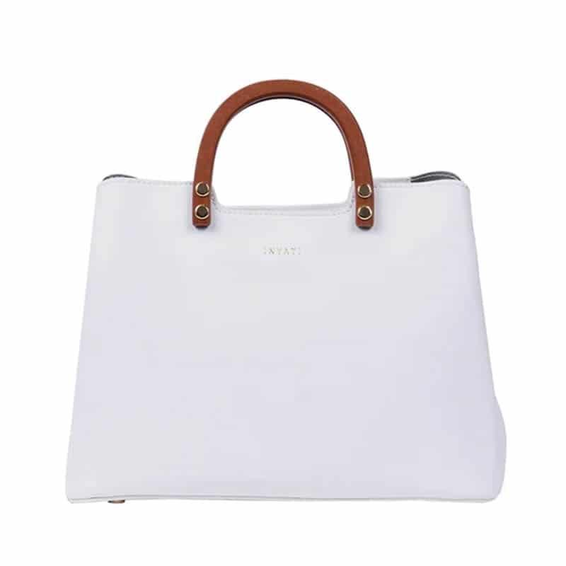 INYATI Inita Top Handle Bag White-0