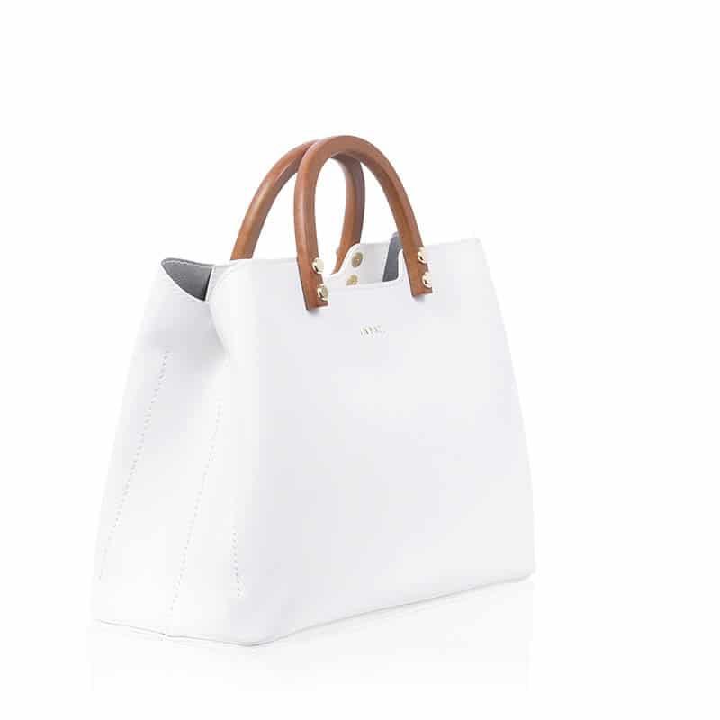 INYATI Inita Top Handle Bag White-185925