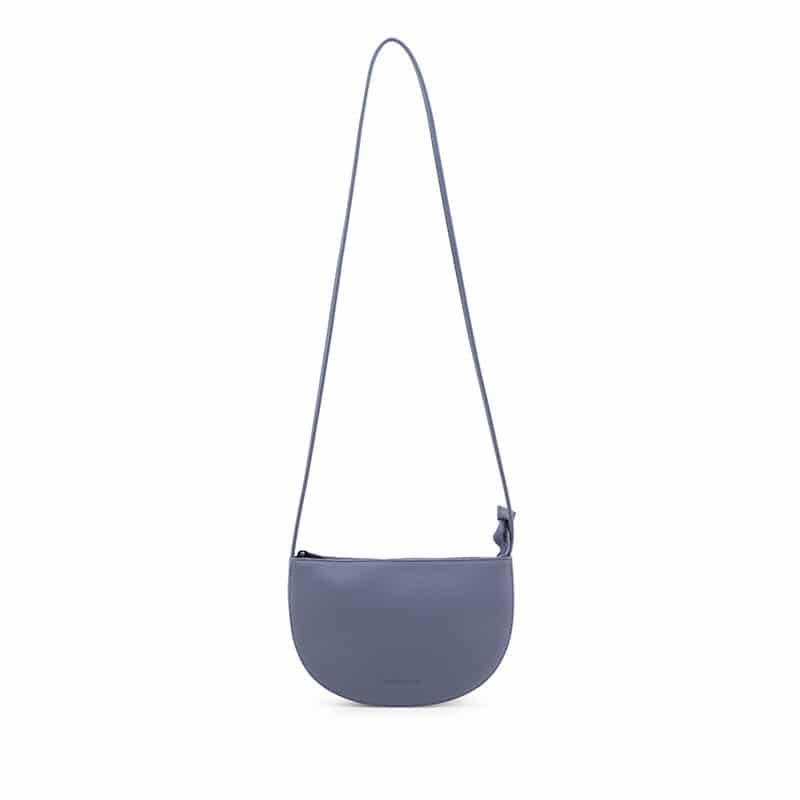 Monk & Anna Farou Half Moon Bag Faded Blue