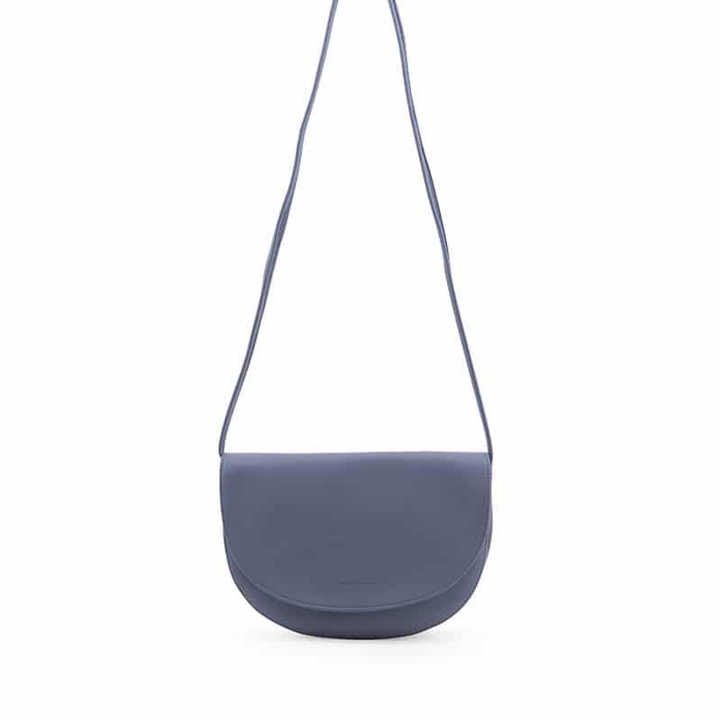 Monk & Anna Soma Half Moon Bag Faded Blue