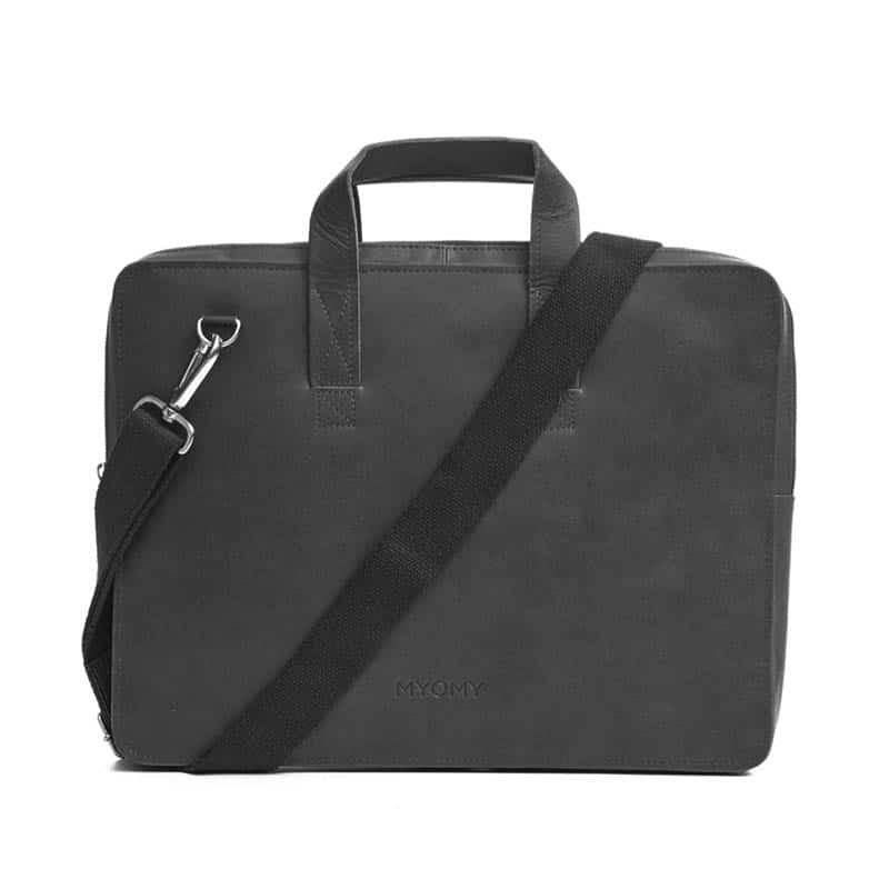 MYOMY My Paper Bag Laptop Hunter Off Black-185921