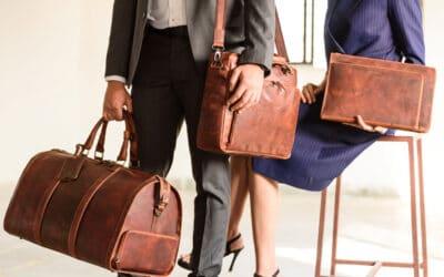 Draag al je items met stijl met de tassen van Genicci