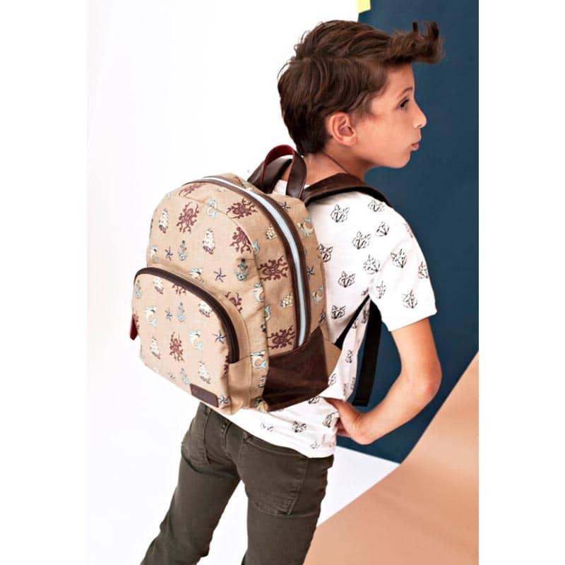 Zebra Trends Backpack Boys Sailor Tattoo-185437