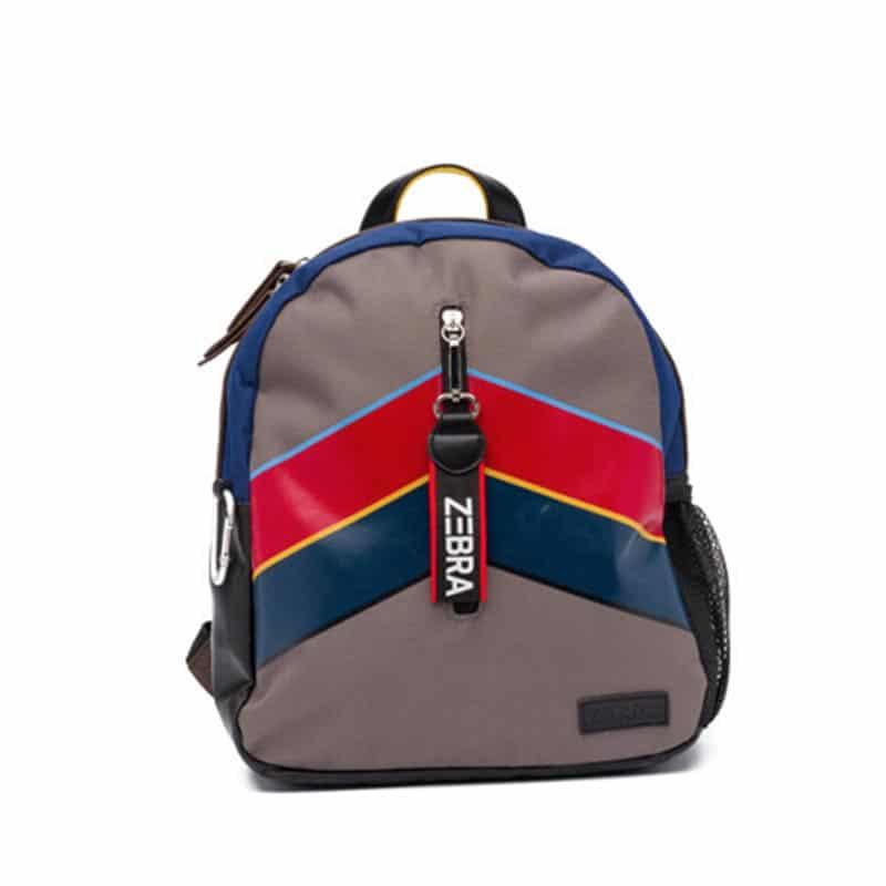 Zebra Trends Backpack Stripes Navy-0
