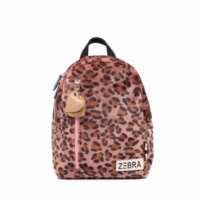 Zebra Trends Backpack S Soft Leo Pink-0