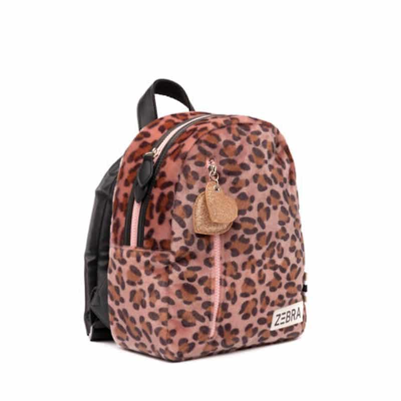 Zebra Trends Backpack S Soft Leo Pink-185418