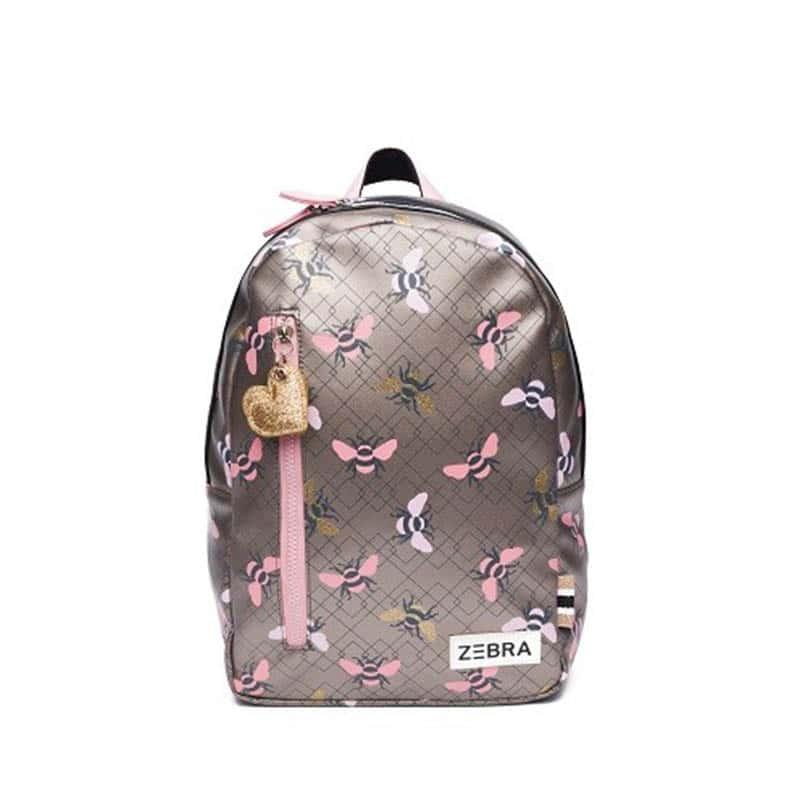 Zebra Trends Girls Backpack M Bees-0
