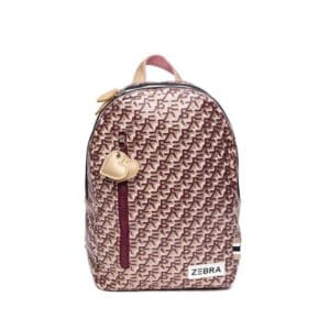 Zebra Trends Girls Backpack M Zebra Print-0