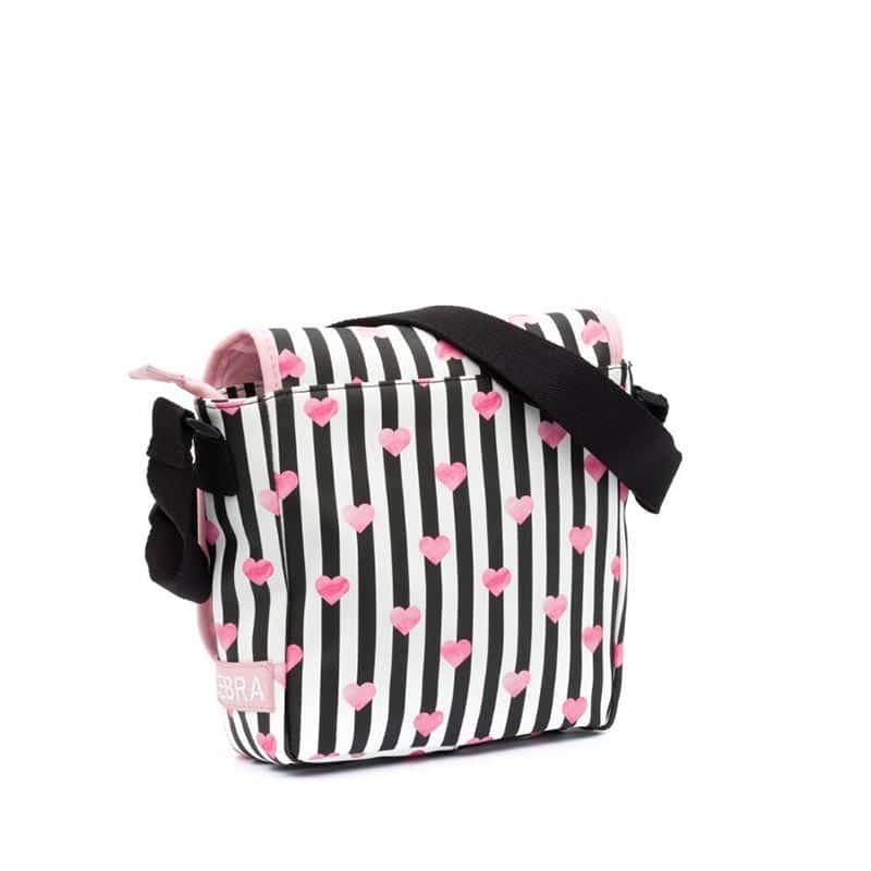 Zebra Trends Kids Crossbody Stripes & Hearts-185465