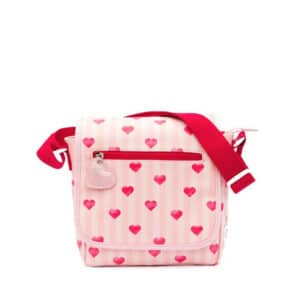 Zebra Trends Kids Crossbody Stripes & Hearts Pink-0