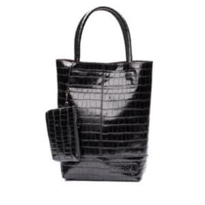 Zebra Trends Natural Bag Kartel Black Croco