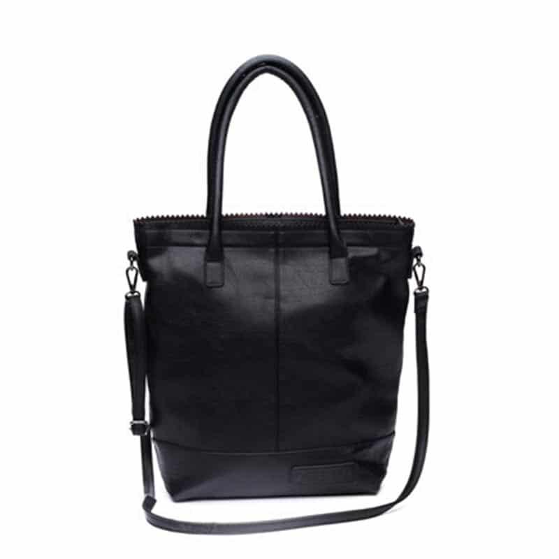 Zebra Trends Natural Bag Kartel Zip Black-0
