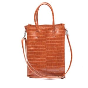 Zebra Trends Natural Bag Rosa XL Black Camel-0