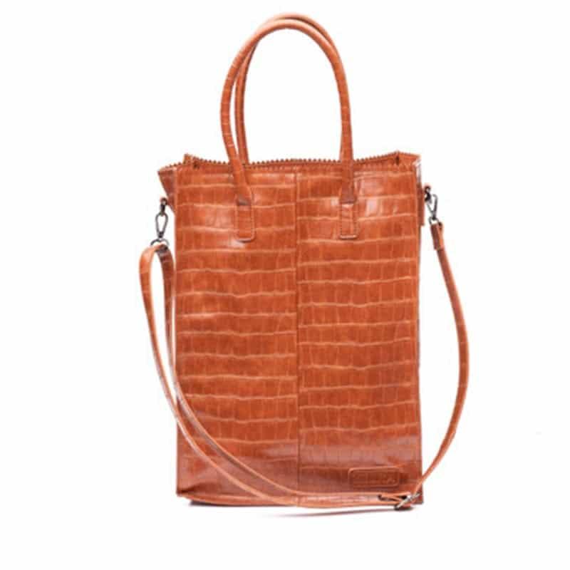 Zebra Trends Natural Bag Rosa XL Black Camel-0