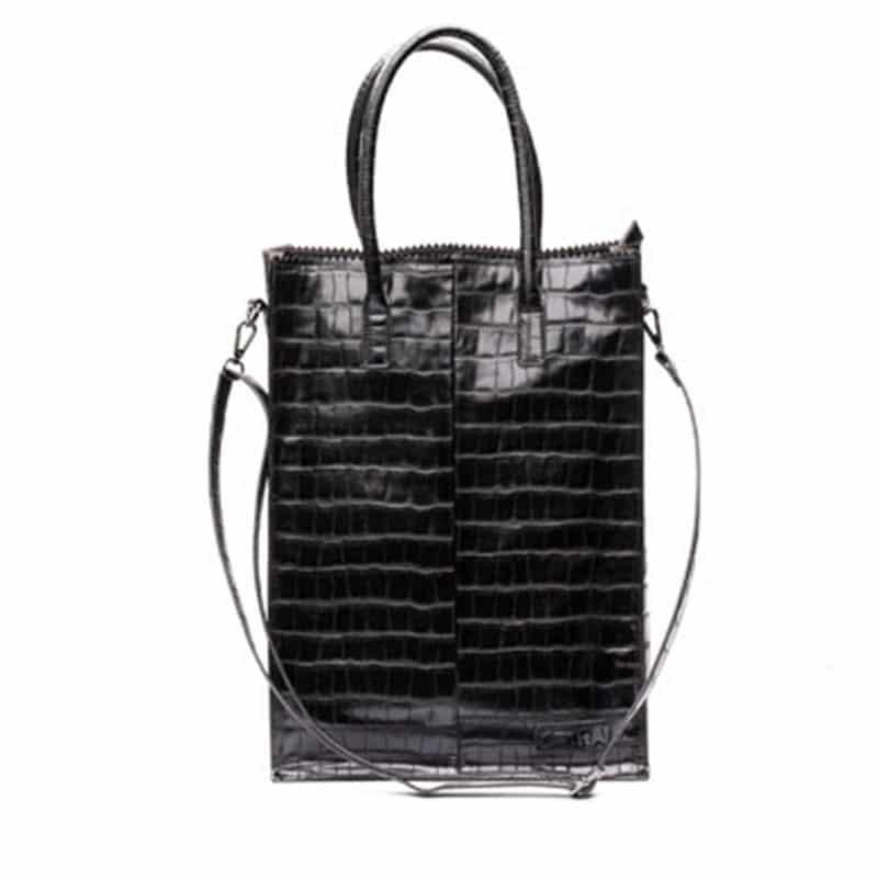 Zebra Trends Natural Bag Rosa XL Black Croco-0