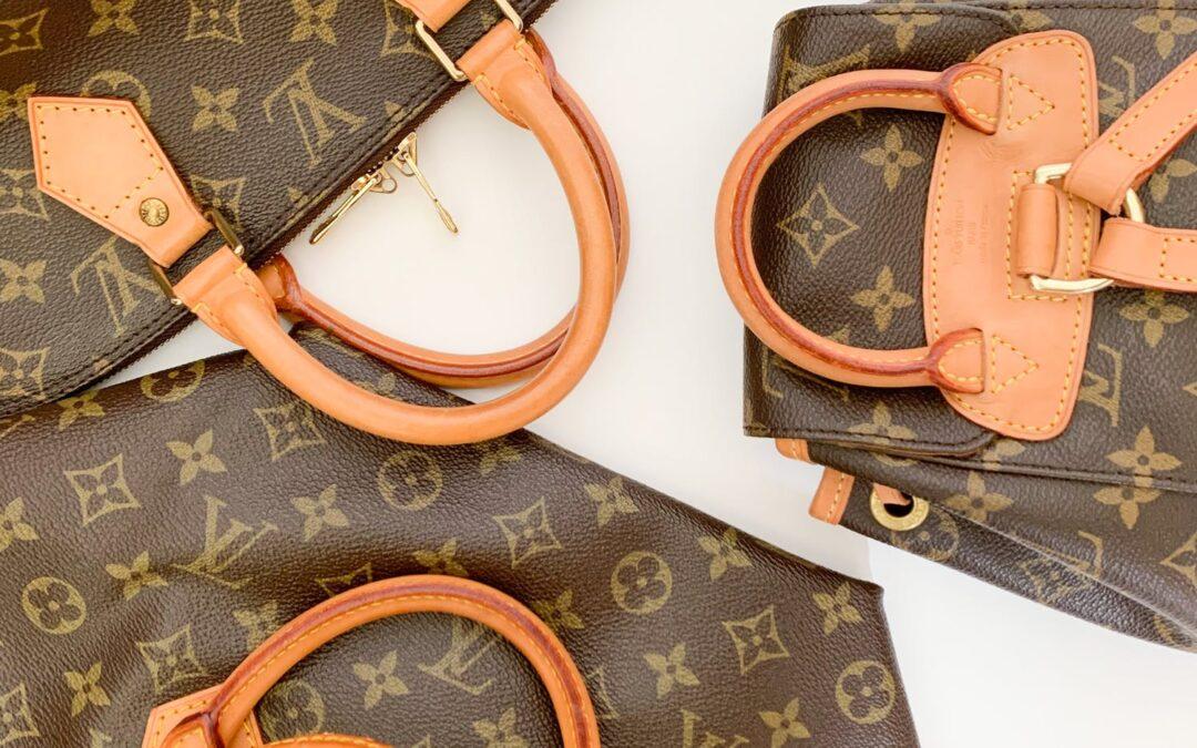 Een Louis Vuitton is een LV tas met een grote T