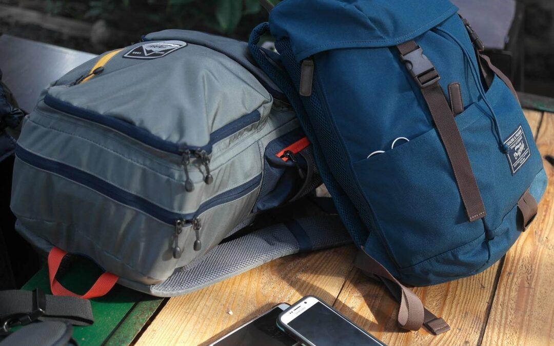 Met deze tas naar het terras!