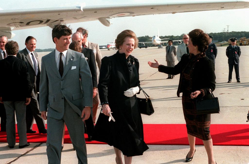 5 schitterende handtassen à la Thatcher